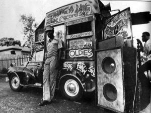 Reggae sound system